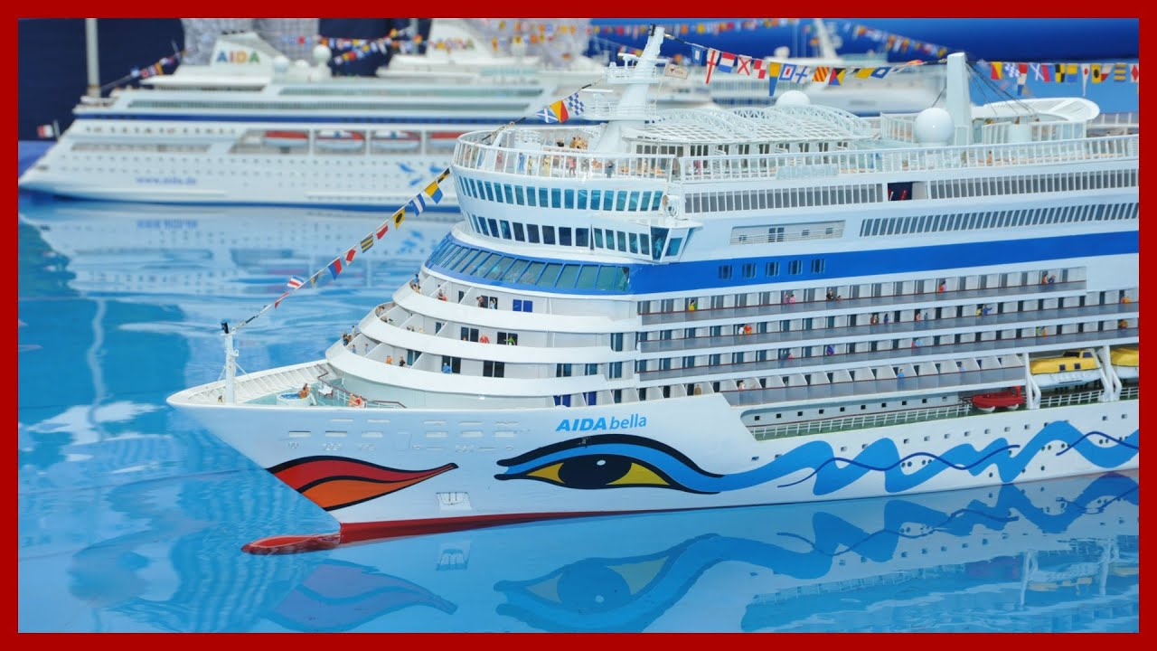 Three RC AIDA Cruise Ships YouTube - Cruise ship toys for sale