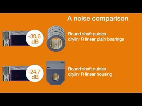 drylin® linear technology - Metal vs. Plastic linear bearings