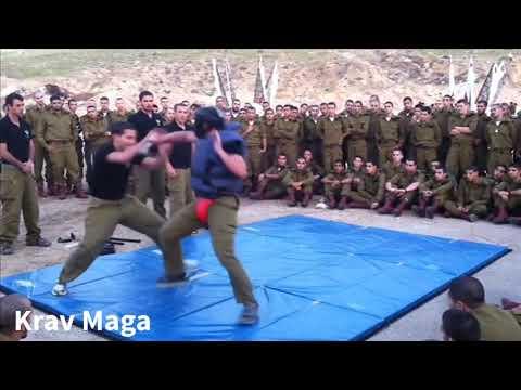 Israeli Soldiers Demonstrate Krav Maga