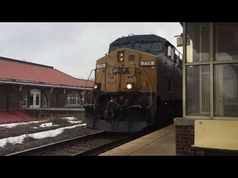 "Freight train in Rome, NY - A very ""moving"" experience!"