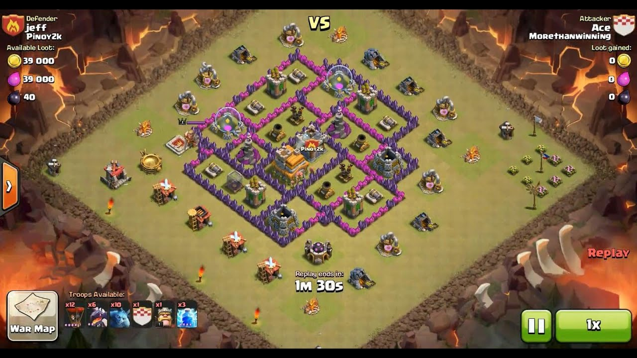 clash of clans balloon attack strategy th7