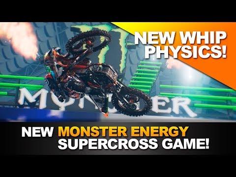 New Whip Physics! - Monster Energy Supercross Game! (Supercross The Game)