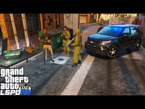 GTA 5 LSPDFR Police Mod 299| Chicago Police Inteligence Detective | Interrogation Leads To Drug Bust