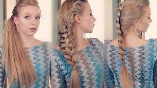 Как сделать 3 ОРИГИНАЛЬНЫЕ причёски самой ! Easy every day hairstyle tutorial(3 ВАРИАНТА ХВОСТА на КАЖДЫЙ ДЕНЬ ТУТ https://www.youtube.com/watch?v=caKnJCKPzrI ДВЕ причёски на каждый день ТУТ ..., 2014-04-07T06:34:05.000Z)