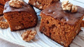 Карамельный Пирог  Вкусный, Влажный, Ароматный за 5 минут + выпечка.