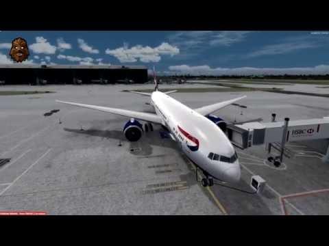 [P3D v3.3] London Heathrow (EGLL) - Seattle Tacoma (KSEA) Full Flight | BAW49 PMDG 777-200LR
