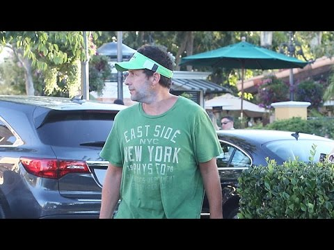 Adam Sandler Rocks His Curious Style On Fourth Of July Weekend Outing With Family