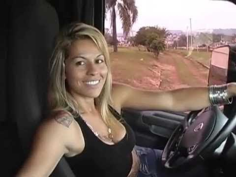 Sexy Girl Hot Lady Drive Truck Oversize Load Mega Machines World Amazing Modern Heavy Equipment