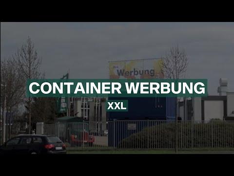 ContainerWerbung XXL by Baumann Container & Bannerstop