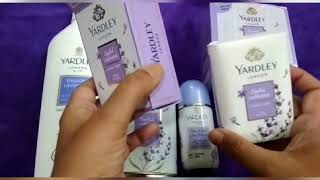 Review of Yardley London range of products English Lavender products first anti aging roll on