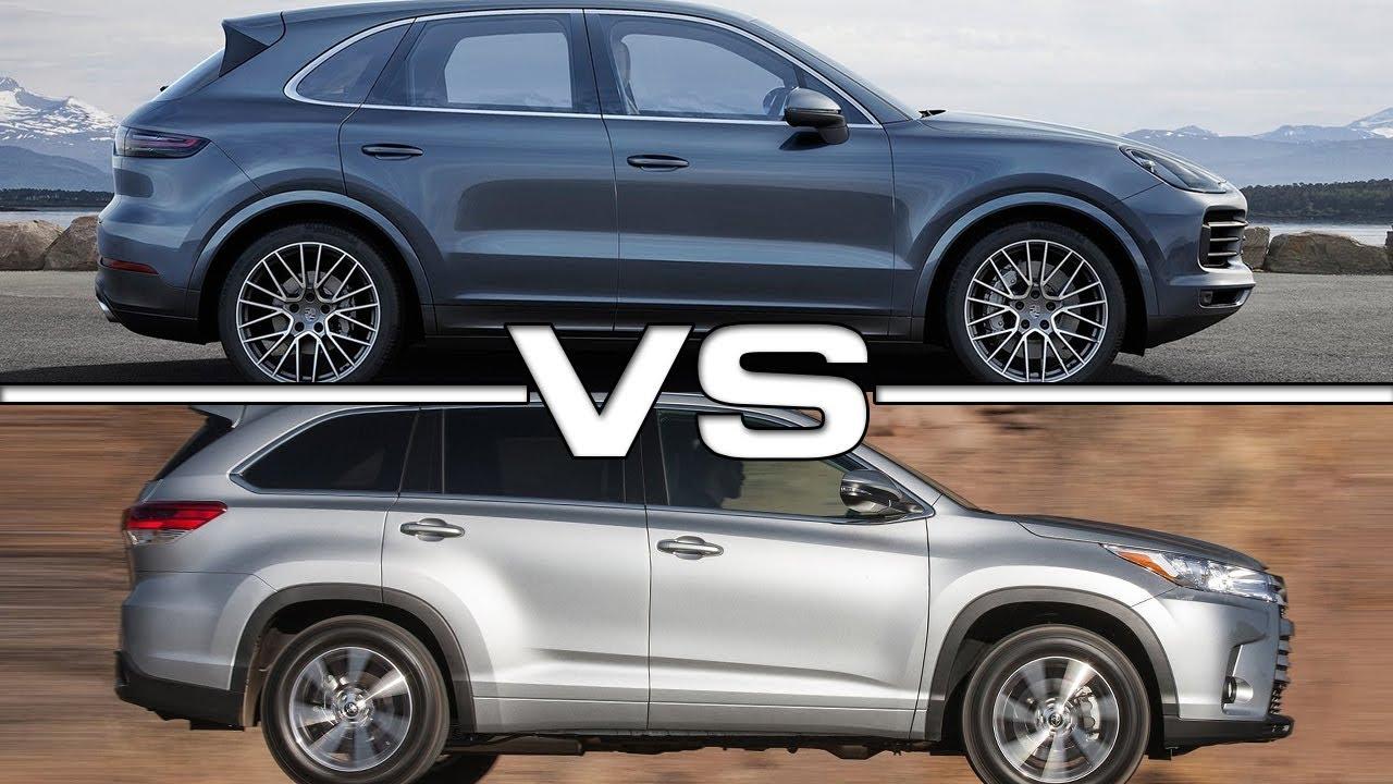 Compare Toyota Highlander Hybrid Vs Toyota 4runner Vs U003eu003e Toyota Highlander  2017 Vs 2018 |