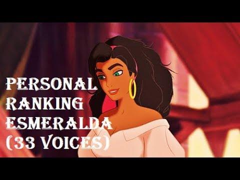 Personal Ranking - Esmeralda (33 voices)