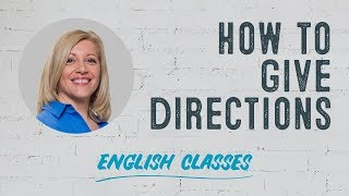 Giving directions with Teacher Del | ABA English