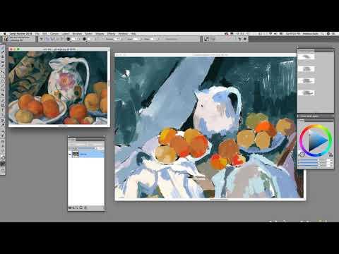 1895 Post Impressionism part 3 - Imitating Paul Cezanne