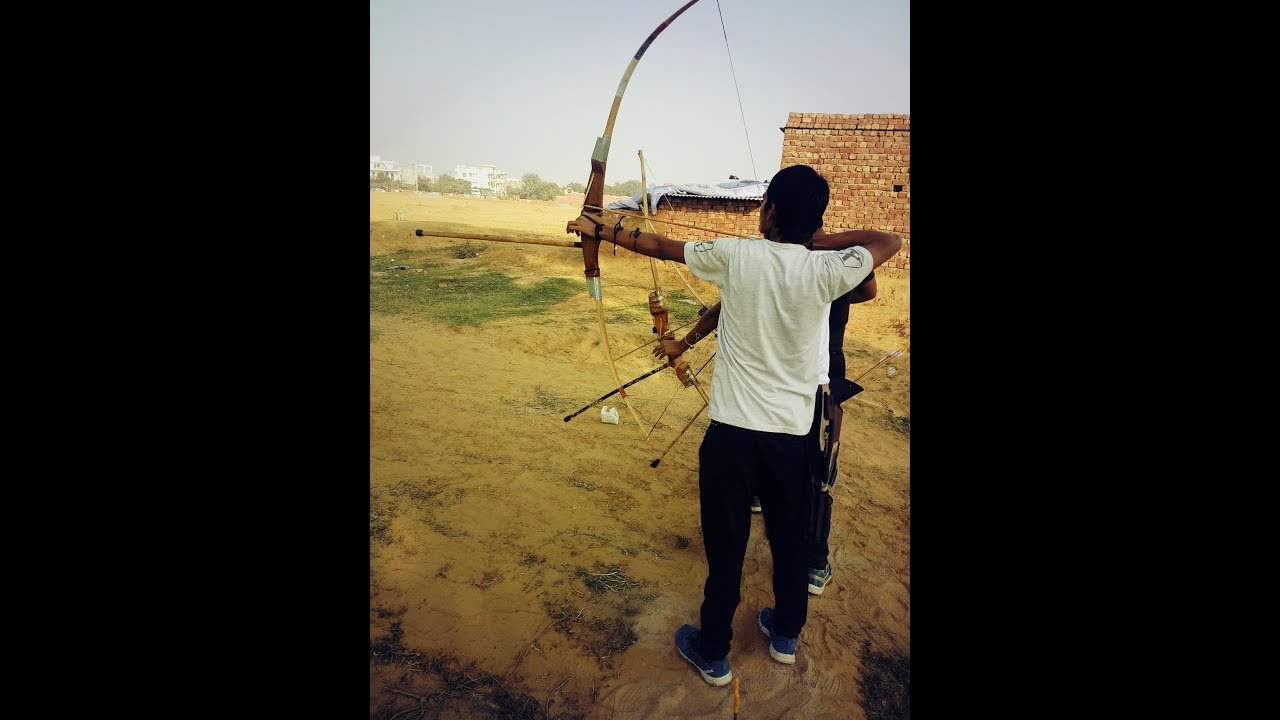 How to shooting a archery indian bow tips and tricks for begginners archery  exercises and training