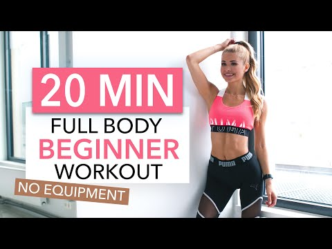 20 MIN FULL BODY WORKOUT – Beginner Version // No Equipment I Pamela Reif