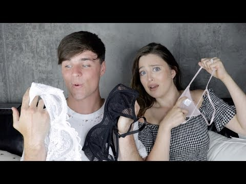 Husband Buys Wife LINGERIE | Shopping...