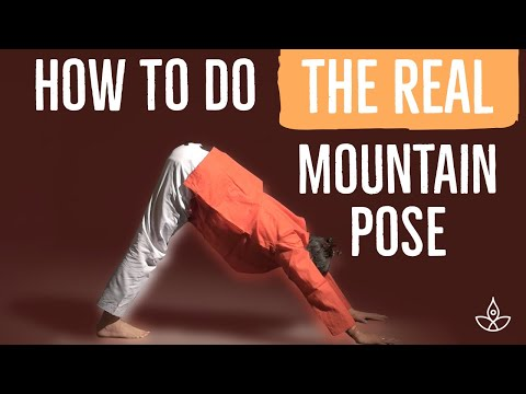 How to do the REAL Mountain Pose? YOGASANA 225