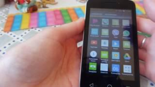 Новый телефон за 2990. Смартфон Alcatel Pixi 3 (4) Dual 4013D