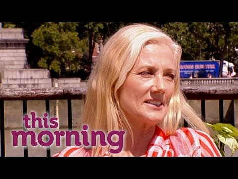 Joely Richardson  Maggie   This Morning