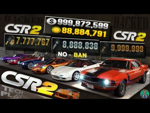 CSR Racing 2 - HACK - Unlimited MONEY, GOLD, KEYS For FREE - 2019