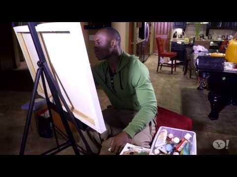 San Francisco 49ers Vernon Davis: The Artist--Yahoo Sports presents Outside the Game w/ Angela Sun