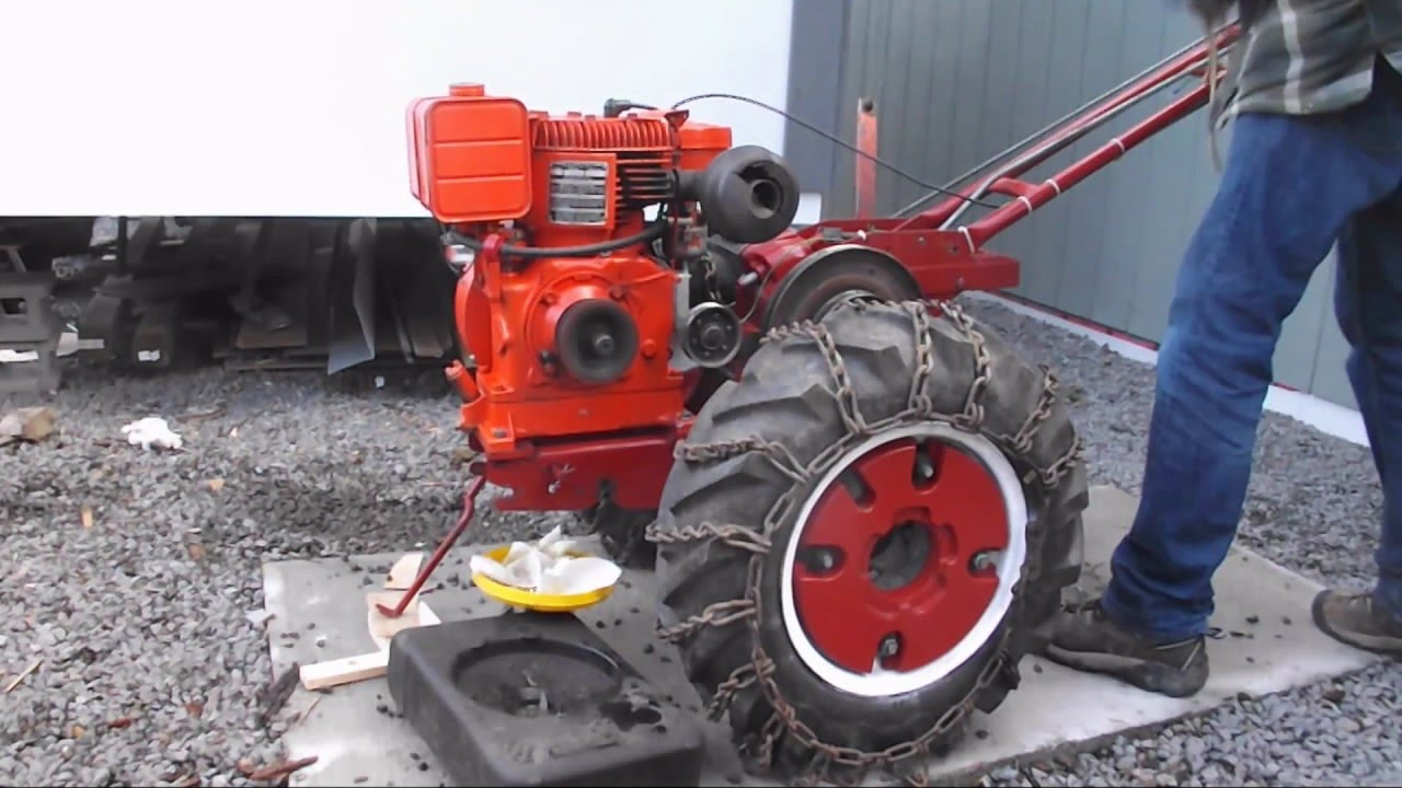 1962 Simplicity Tractor Model W Back to Life