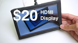 "$20 7"" HDMI Display"