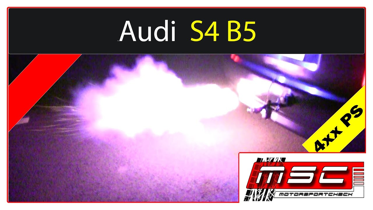 Audi S4 RS4 B5 100-200 Backfire