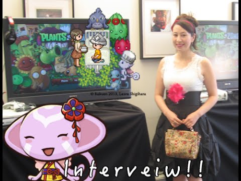 SPECIAL INTERVEIW/W GAME DEV LAURA SHIGIHARA