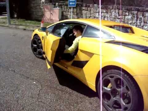 Conduciendo Un Lamborghini Gallardo Amarillo Youtube