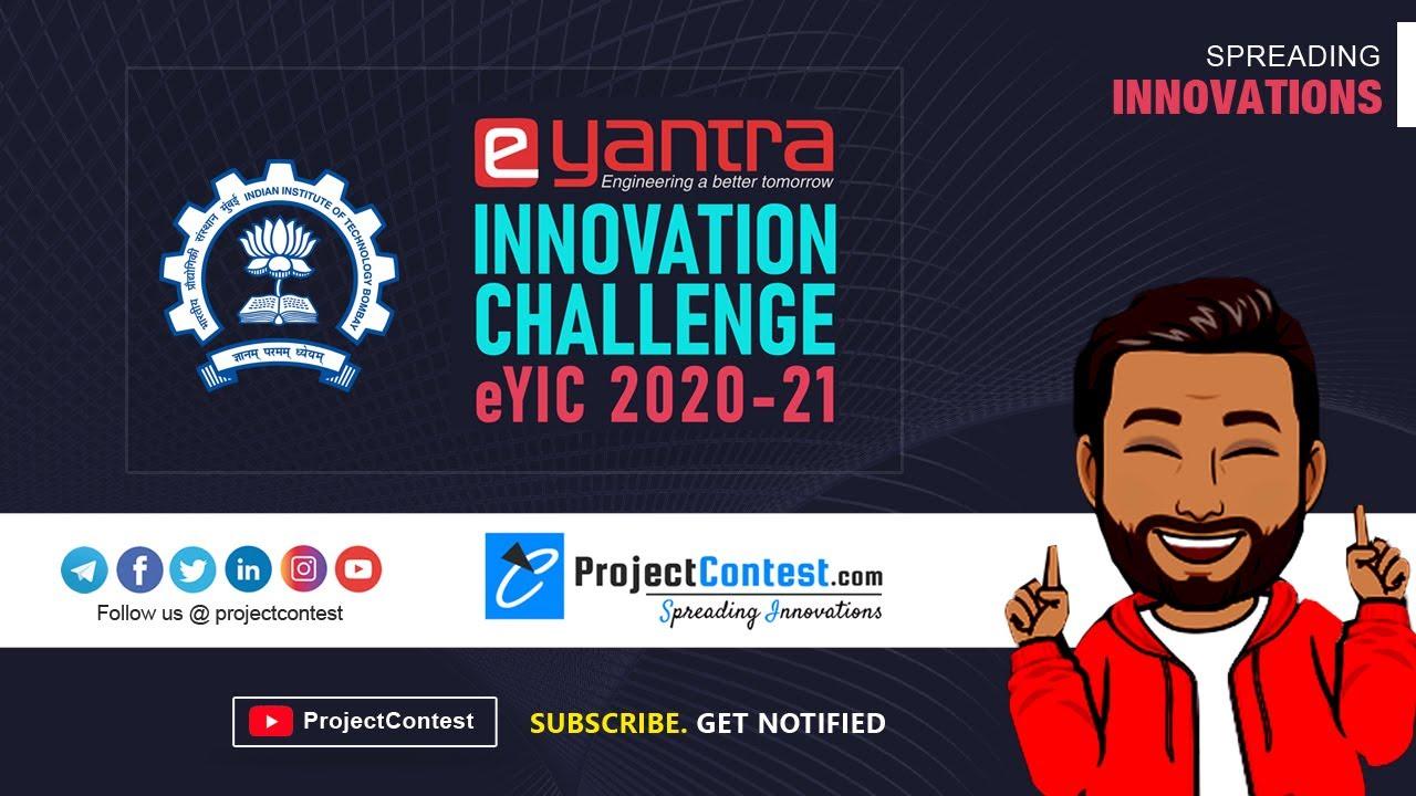 E-Yantra Innovation Challenge I IIT Bombay I ProjectContest.com