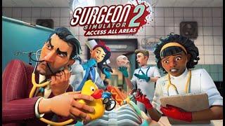 Hoy estás de suerte! Te operan los mejores cirujanos!! Surgeon Simulator 2
