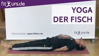Yoga Übung: Der Fisch (Asana Matsyasana)