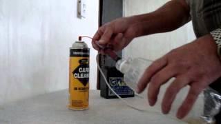Промывка форсунок энжектора на Mazda Demio(DY3W)