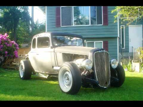 1934 Chevrolet Master 5 window coupe