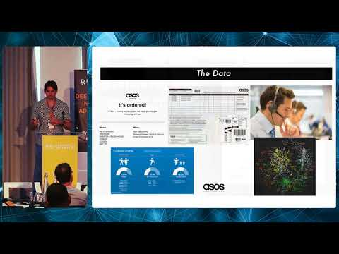 Ben Chamberlain, #ASOS- Using deep learning to estimate CLTV in e-commerce #reworkretail