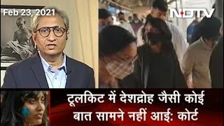 Prime Time With Ravish Kumar: Activist Disha Ravi Granted Bail By Delhi Court