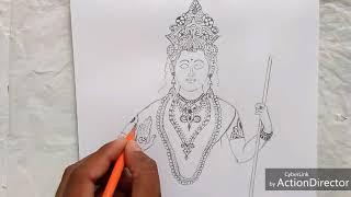 15 Agust special bharat Mata Art