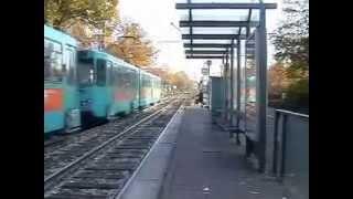 Frankfurt Am Main Mass Transit. Транспорт Франкфурта-на-Майне. 13-20.10.2008