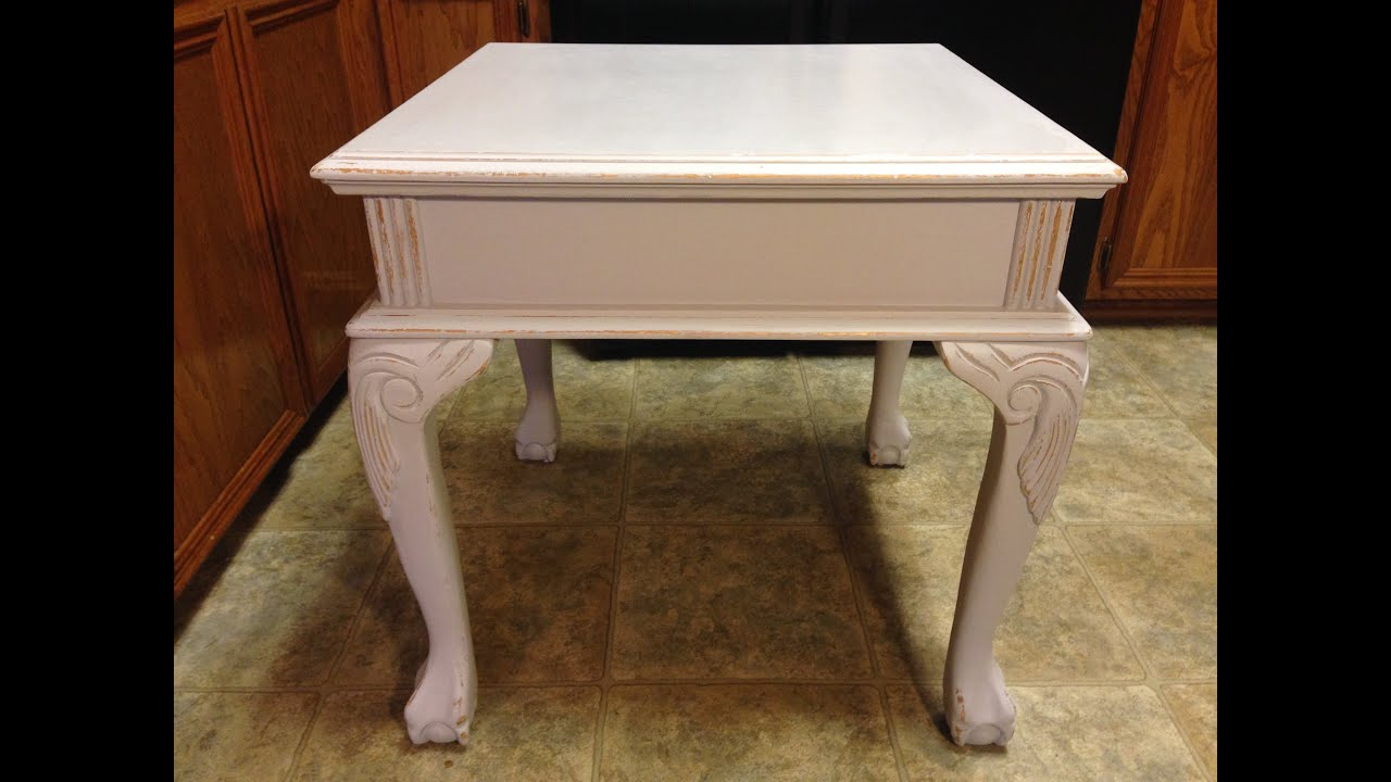 Beau Paint U0026 Distress Table With Chalk Paint