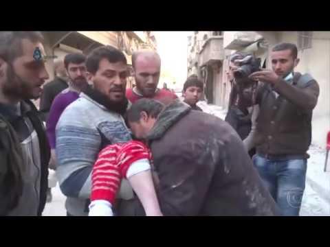 Menina Encontrada Após Acidente  Na Síria E Reencontra O Pai