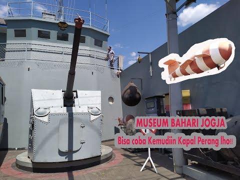 di-museum-bahari,-nyoba-jadi-nahkoda-kapal-perang