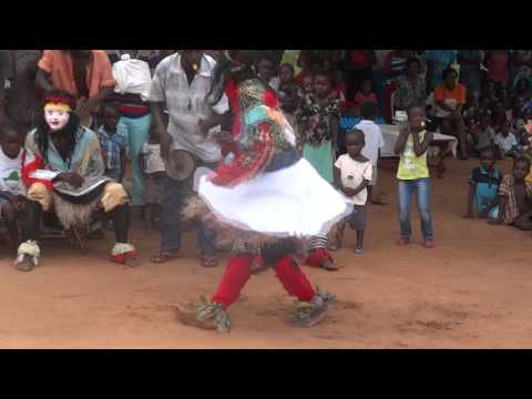 Nyawo Dancers In Shamva Roots