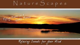 🎧 SOOTHING SOUNDS OF WAVES IN A GENTLE BREEZE... Nature Sounds for Relaxing, Meditating & Sleep