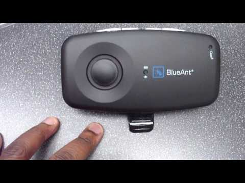 BlueAnt S1 Handsfree Bluetooth Device Unboxing