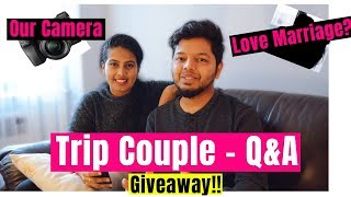 VLOG 55 : Q and A | Trip Couple | Q&A with Malayalam Vloggers | Malayalam