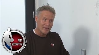 76ers head coach Brett Brown shares game day routine and how he keeps players unselfish   ESPN