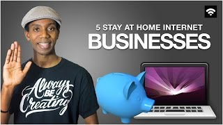 5 Small Businesses You Can Start at Home