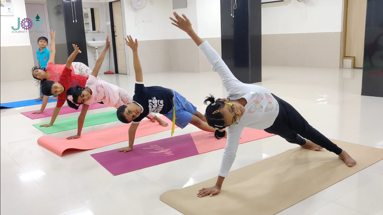 The children as young as nine with personal trainers
